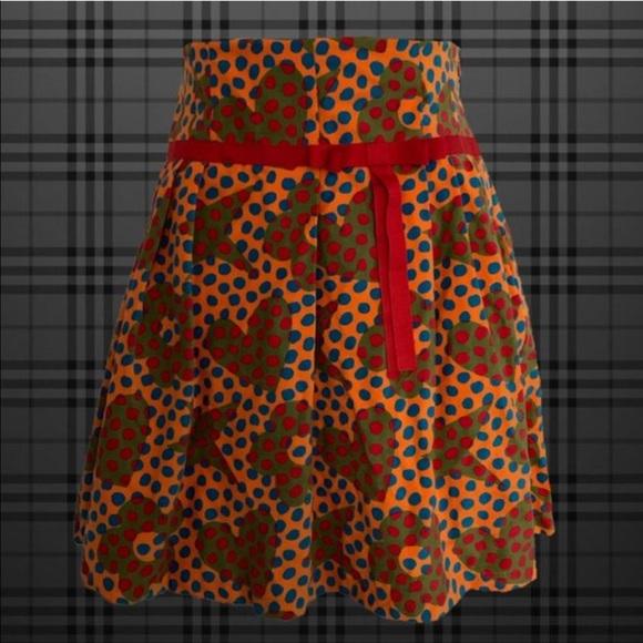 Dresses & Skirts - super cute high waist bright colored skirt